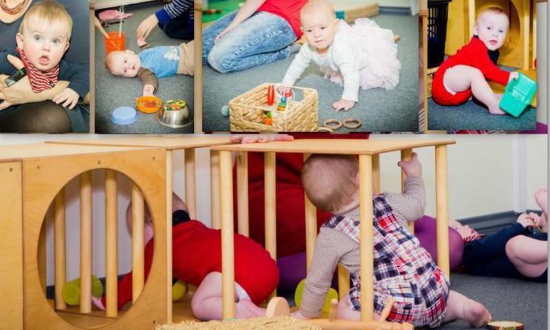 Приглашаем на развивающие занятия с физиотерапевтом Яной Парфёновой для мам с малышами 6 - 18 месяцев!