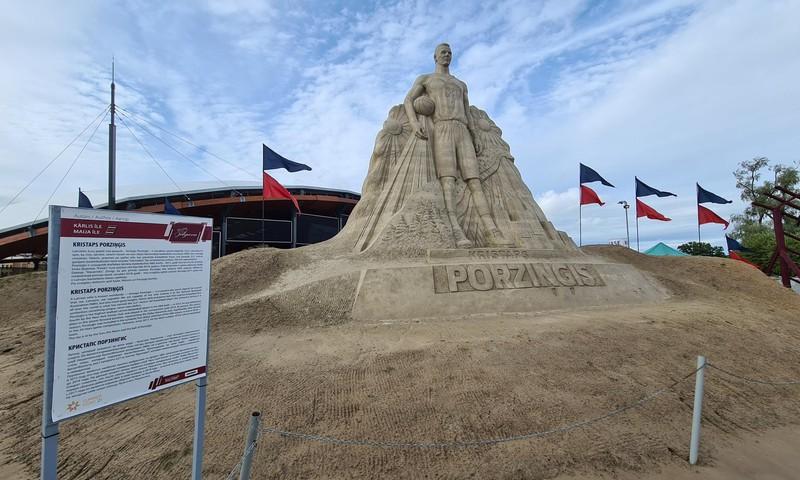 Латвийские каникулы: Песчаные скульптуры в Елгаве