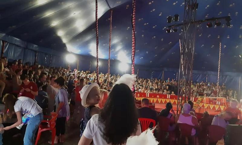 Последние гастроли «Baltijos cirkas» в Риге!