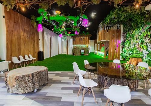 """Sensory room """"Forest"""" - сказочный мир для детей"""