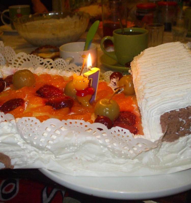 Самый первый день рождения