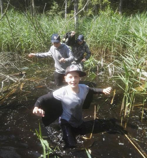 Лагерь для мальчишек «101 воин», 2 часть
