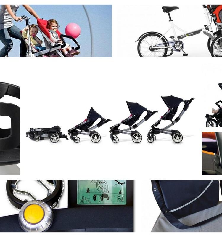 Креативно, практично, современно: Гаджеты - коляски и на коляски