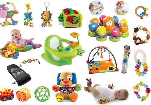 Наши любимые первые игрушки + кое-что из моего wishlist + ваши рекомендации