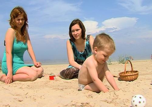 Во что играть на пляже, смотри ВИДЕО!