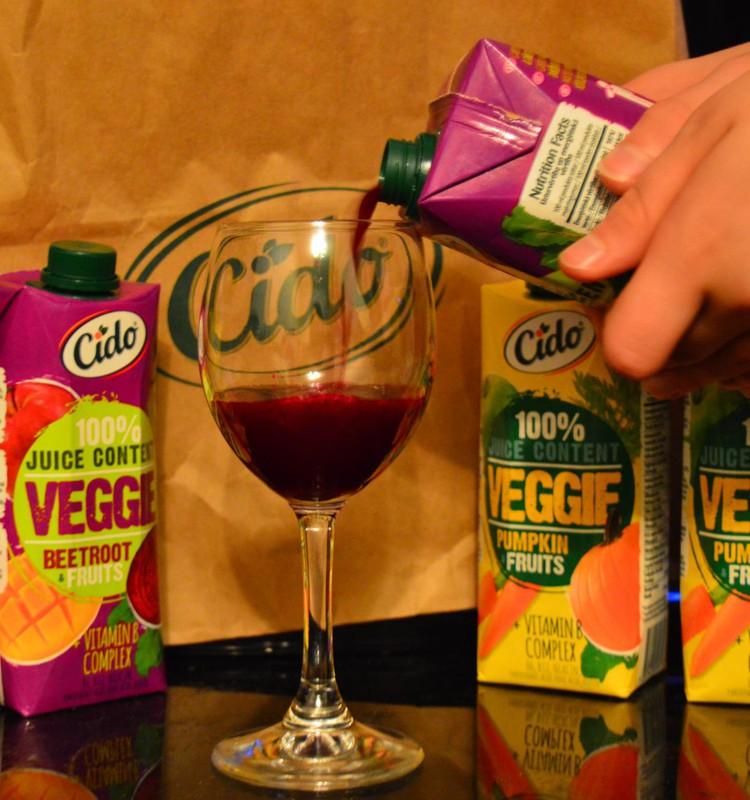Полезные и удобные овощные соки CIDO