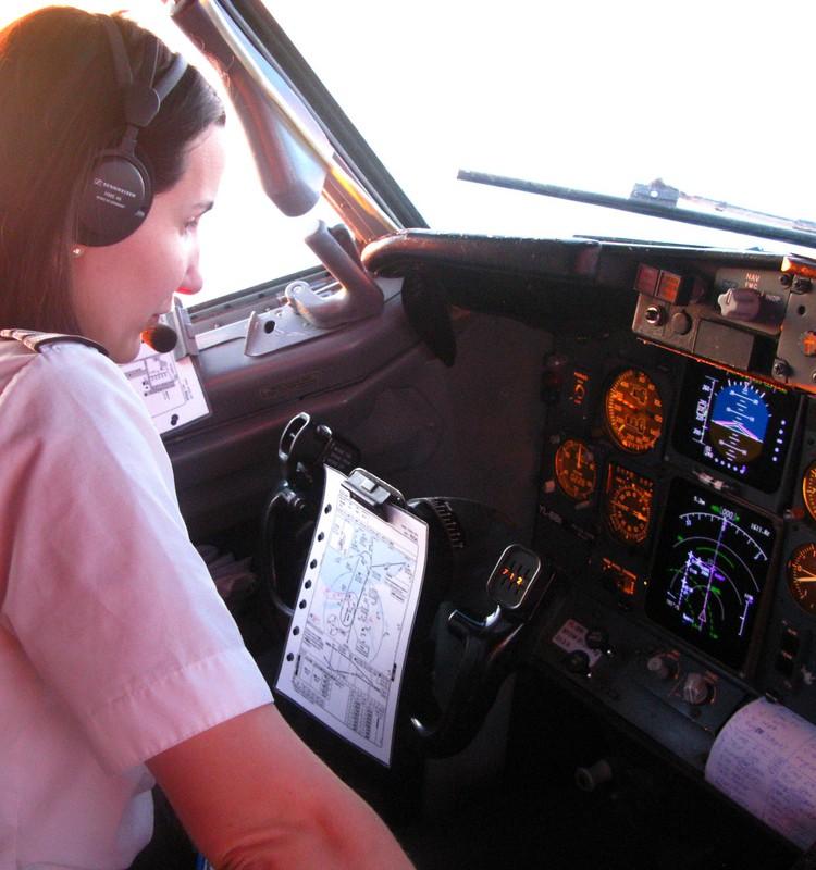 АЛИНА: Специфика лётной работы 2