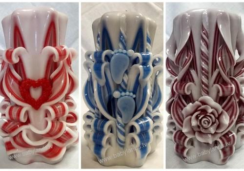 Резная свеча -  прекрасное украшение интерьера и универсальный подарок