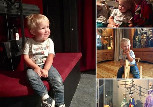 Приключения Элли и Итана: А когда ваши детки впервые побывали в Кукольном театре?