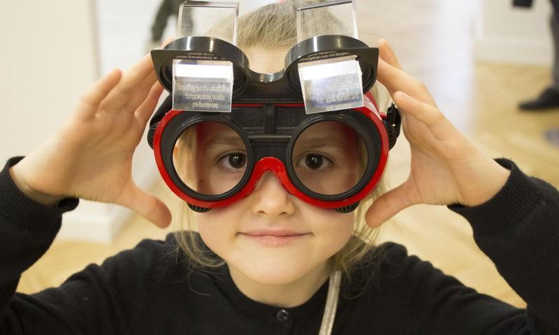 В Риге открылся музей иллюзий