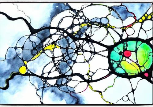 10 ноября приглашаем на мастер-класс по трансформационному рисованию, или нейрографике