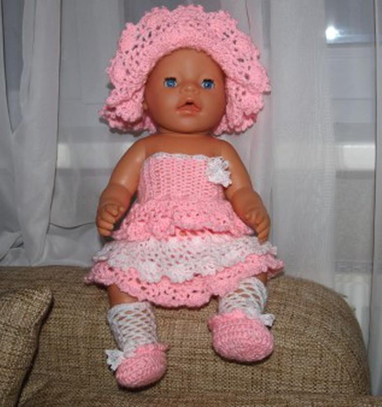 Наряд для дочкиной куклы