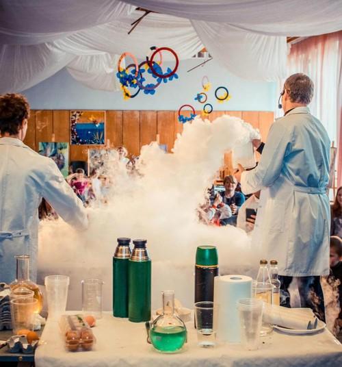 Zinātnes zona - весёлая наука для детей и их родителей!