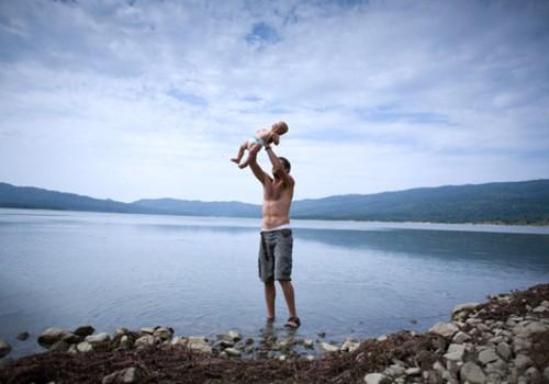 Вода, лето и новорождённый