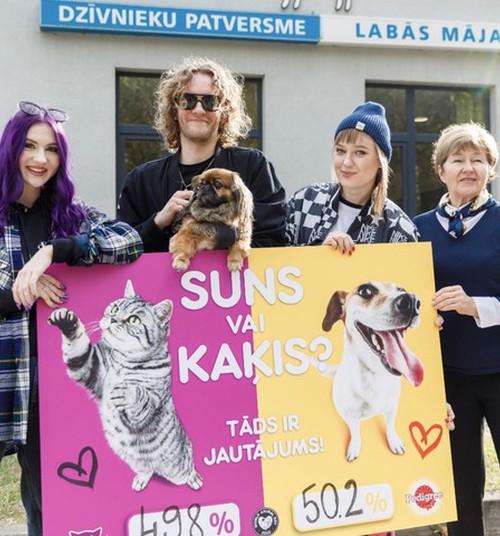 При голосовании 49,8% против 50,2% стало ясно, что Латвия - страна собаководов!
