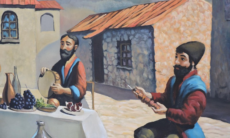 ЛЕТНИЙ ГИД: Ресторан армянской кухни Ноян Тапан в Асари