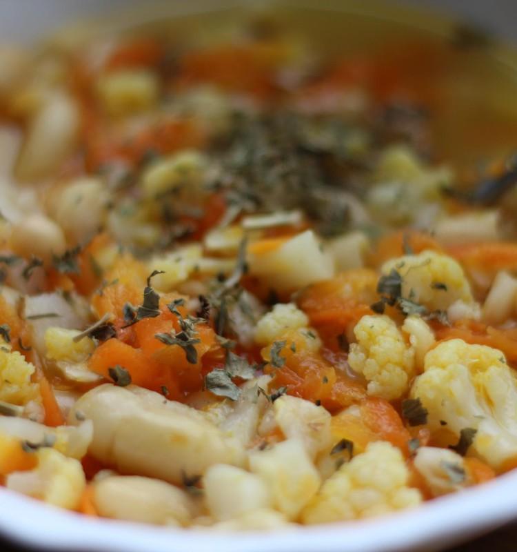 Быстрый фасолевый суп