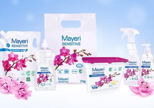 Участвуйте в тестировании экологичного средства для стирки Mayeri Sensitive!