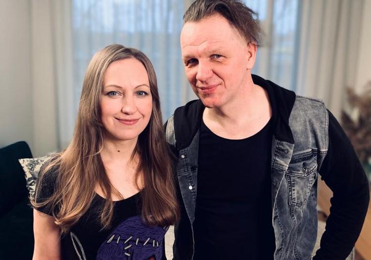 В Большом интервью 11 апреля - Юрис и Айя Каукули!