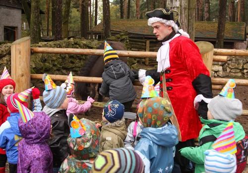 Детский праздник: день рождения в зоопарке