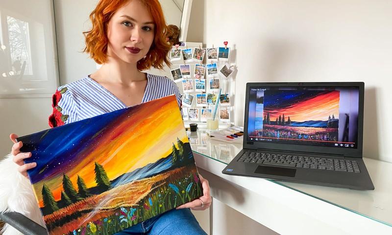 Сам себе художник: нарисуем картину своими руками, не выходя из дома?