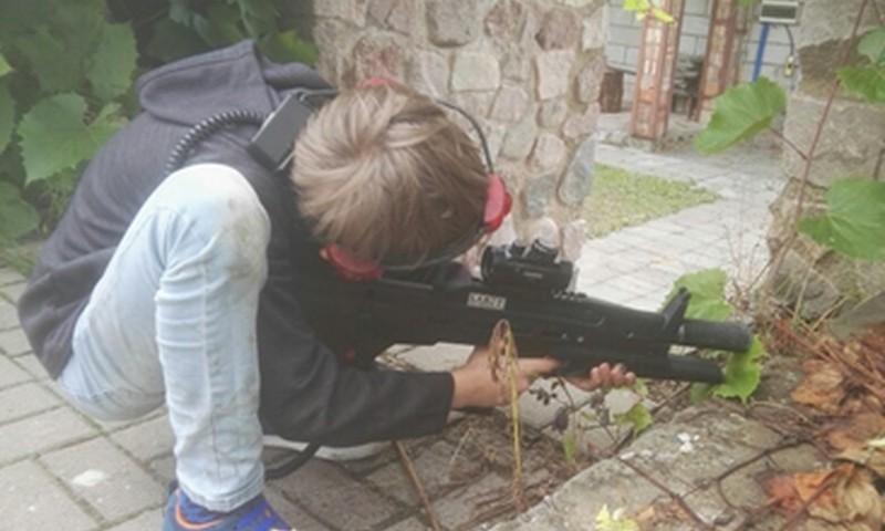 Лагерь для мальчишек «101 воин»