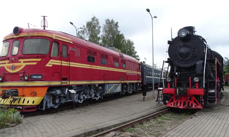 Рижский музей истории латвийской железной дороги