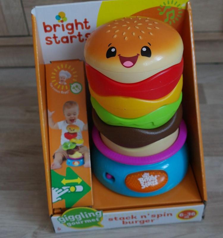 ТЕСТИРУЕМ игрушки Bright Starts: музыкальный сэндвич
