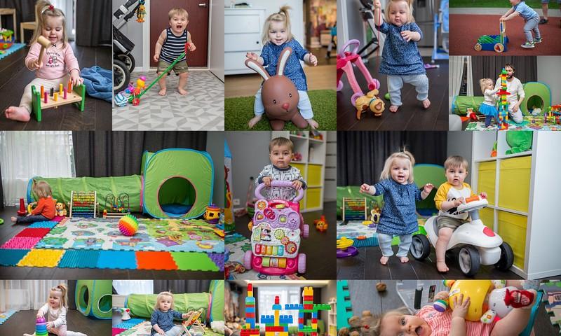Большой обзор всех наших игрушек +1 часть 1