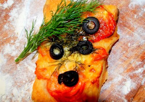 Пицца с рыбой