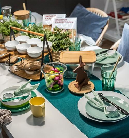 4 простые идеи для сервировки пасхального стола