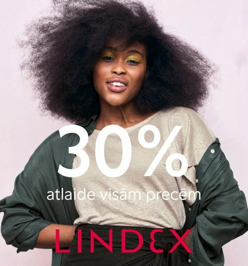 Lindex дарит скидки: -30% на всё!