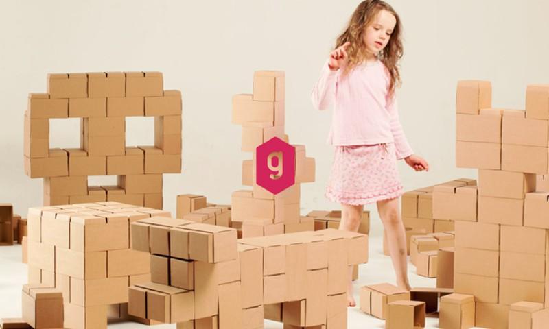 В ТОП-е подарков на новогодние праздники – большие строительные кубики