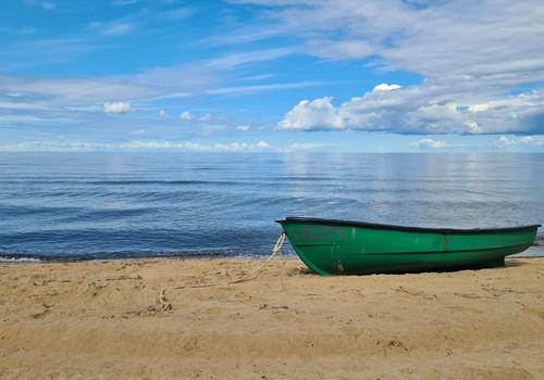 Латвийские каникулы: Пляж Саулкрасты