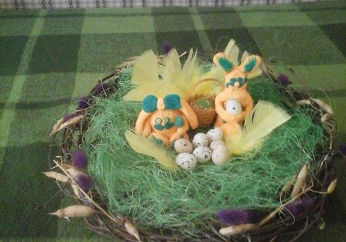 Гнездо для зайцев!