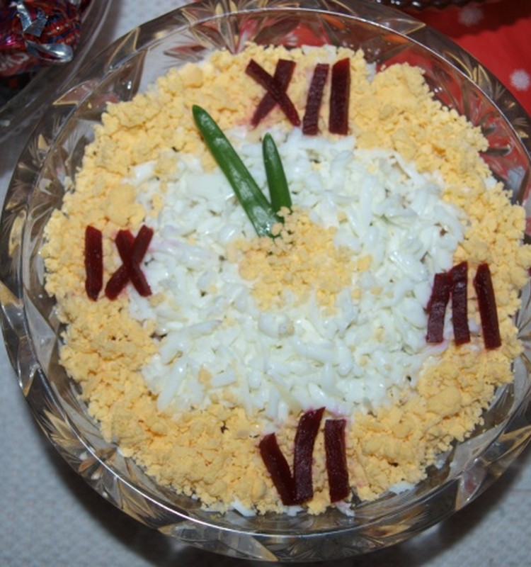 Новогодний салат на Старый Новый год