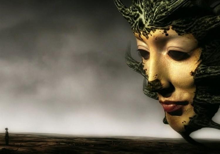 """Новогодний кинозал.""""Зеркальная маска""""(2005)"""