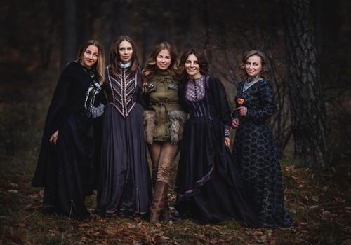 Салемские ведьмы в исполнении Алины Мур и Ко