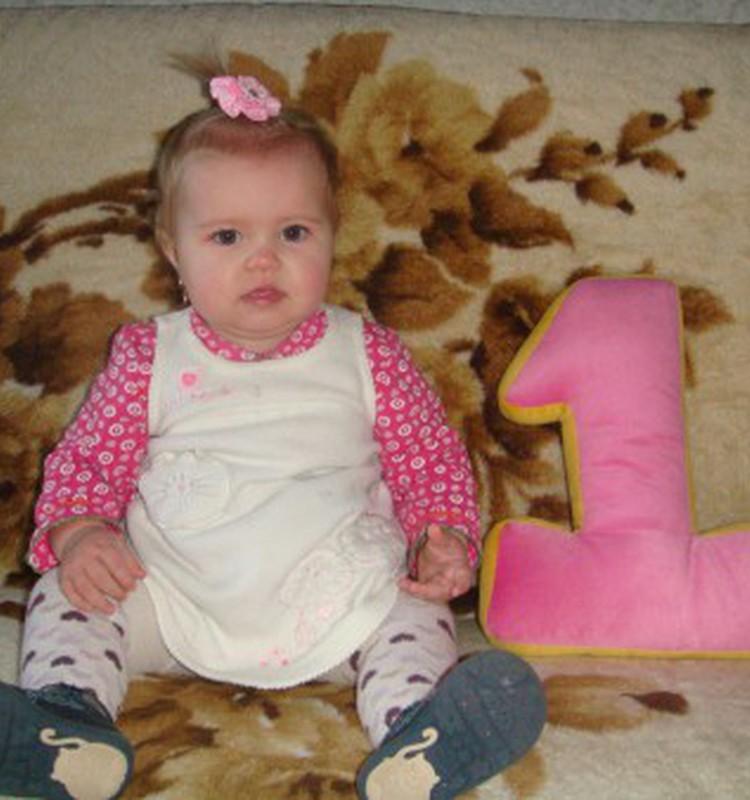 Первый день рождения Николь