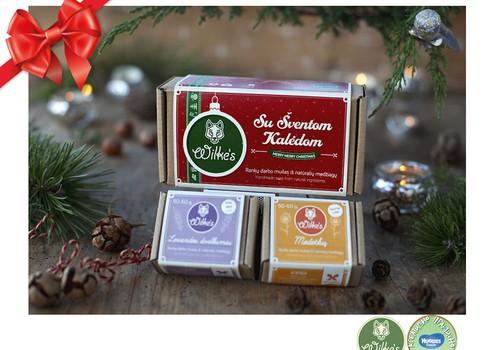 """Праздничный каталог подарков Huggies®: натуральное мыло """"Wilkes"""""""