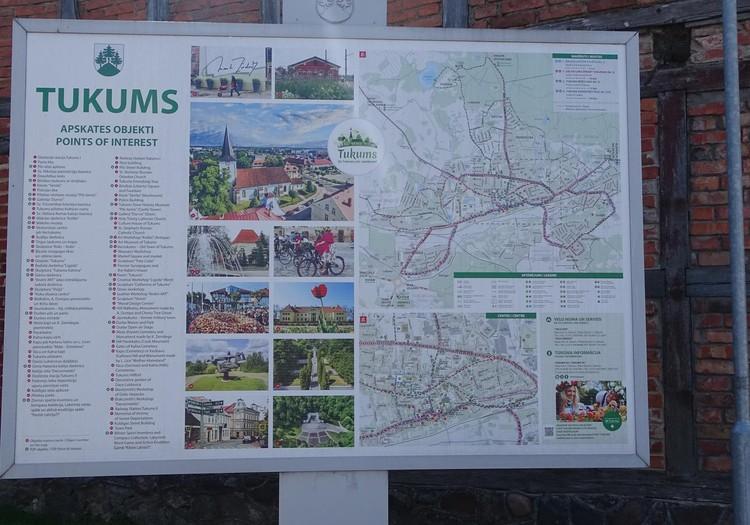 Тукумс - центр города и его музеи