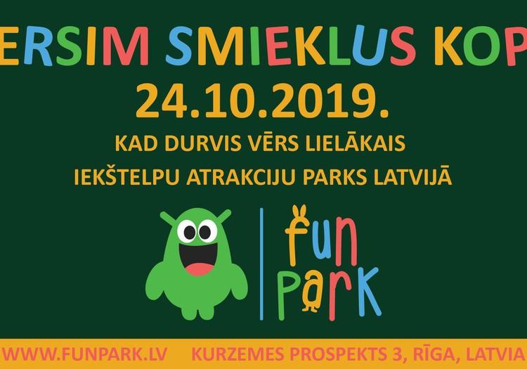 Fun Park - новый парк аттракционов в Риге!