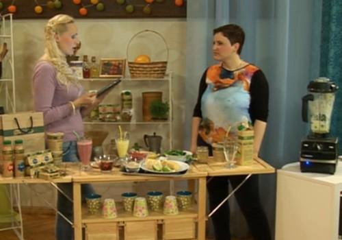 ONLINE-TV Māmiņu Klubs уже сейчас: EKO продукты – натуральный выбор: Вкусные коктейли и ценные советы