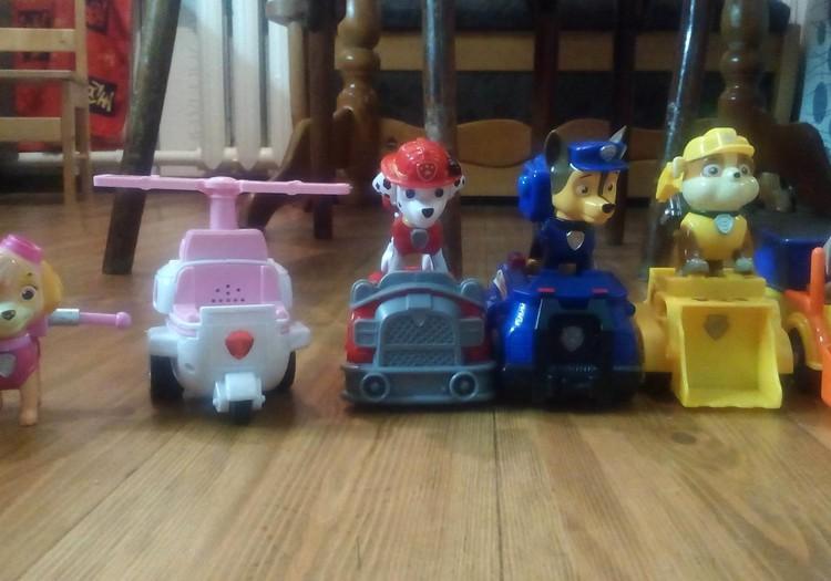 Лиза: У каждого свои игрушки