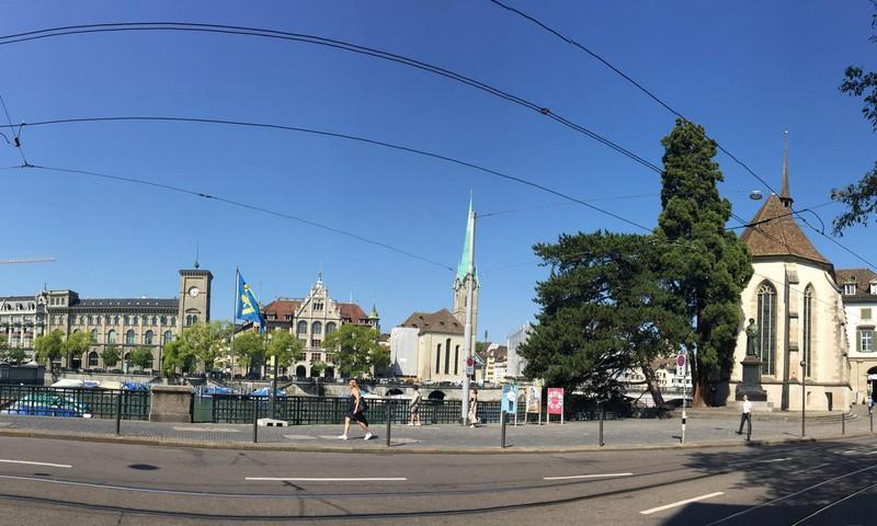 Цюрих – финансовая столицы Швейцарии