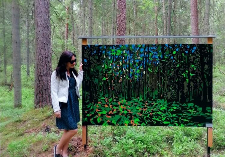 Летний гид: картинная галерея в... лесу!