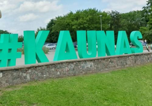 В Каунас. День 4: фуникулеры, парки и старый город