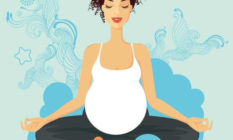 ОЛЯ: Беременность и контроль веса (пробую йогу)