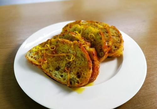 ВИДЕОРЕЦЕПТ: французские гренки на завтрак - Pain perdu