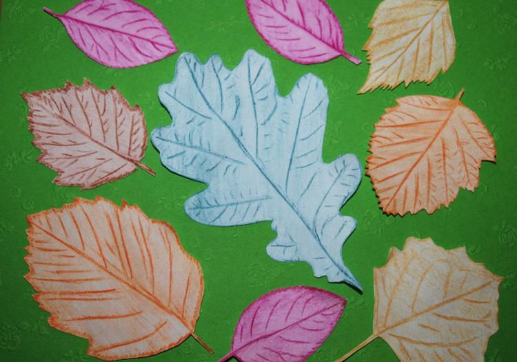 ДЗ-3: Рисуем сами осенние листья
